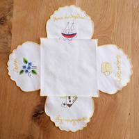 サン・ジョルジェ島の刺繍のパン包み(イエロー)