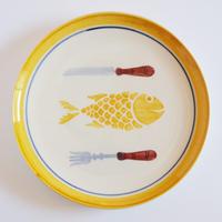 プレート(S)/魚 20cm