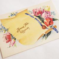 フランスの絵葉書 チューリップ