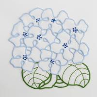 テルセイラ島の刺繍のドイリー/アジサイ
