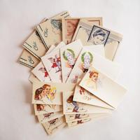 フランスの古い紙ものセット