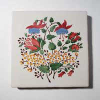 鍋敷き/野の花