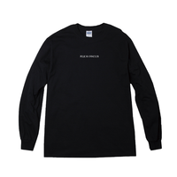 LOGO LONG-SLEEVED(BLACK)
