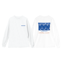 DREAM DAZE LONG-SLEEVE TEE【AW】(WHITE)