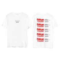RECYCLE TEE(WHITE)
