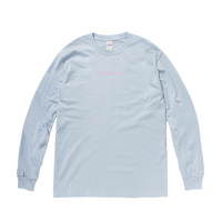 LOGO LONG-SLEEVED(LIGHT BLUE)