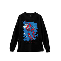 DREAM DAZE LONG-SLEEVE TEE【AW】(BLACK)