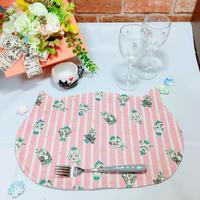ネコちゃんランチョンマット(ピンク)