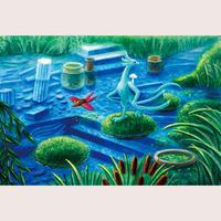 ポストカード「栄華の庭」