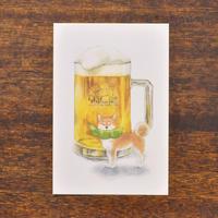 しばいぬとおいしい夏 生ビール