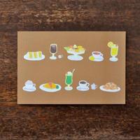 ポストカード 「喫茶メニュー」
