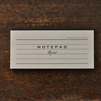 NOTEPAD  Ruled