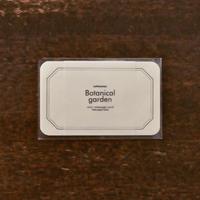 活版印刷ミニメッセージカード フレーム オフホワイト