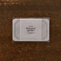 活版印刷ミニメッセージカード フレーム グレー
