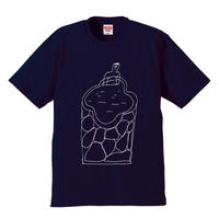 LUKE BEST     ONSEN T-SHIRTS[NAVY]
