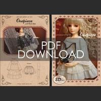 パターンセットvol.1[フリルワンピース]SD/SD13少女サイズ(PDFダウンロード版)