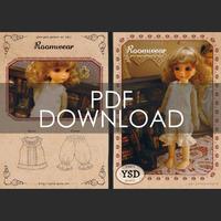 パターンセットvol.2[Roomwear]幼SDサイズ(PDFダウンロード版)