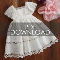 お試しパターン[エプロンワンピース]SD少女サイズ(PDFダウンロード版)