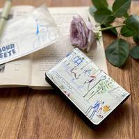 名刺ケース(カードケース)【セーヌ・虹花・壁2色】【全4柄】