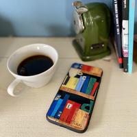 iPhone12/12Pro/11/XR/XSMax背面ガラスケース【本】(リーブル)【全2色】