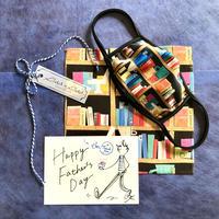 【父の日フェアー限定セット】本ブラックマイクロファイバークロス+本ブラックプリントマスク