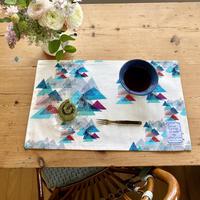 STAY HOME PLAN*テーブルマット【山】(レ・モンターニュ)【全3色】