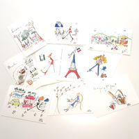 ナカムラユキイラスト ポストカード10枚セット