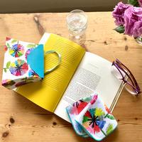 ちょっとしたお礼の品に*虹花ミニタオル(バッグ型ギフトボックス付き)*ギフトボックスセルフで組み立て