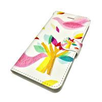 ★10日でお届け【鳥】(ロワゾ)【全3色】iphoneXS/X/8/7/6S/6/SE手帳型ケース