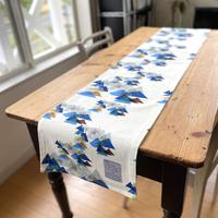 再入荷*テーブルに彩りを*150cm×30cm  テーブルランナー【山】【竹】【虹花】【セーヌ・マルシェ】(全6種)