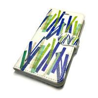 Android手帳型ケース/Lサイズ★10日でお届け【竹】(バンブー)