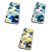 【山】(レ・モンターニュ)【全3色】iphone8 plus/ 7 plus /側面白黒タイプ背面ガラスケース