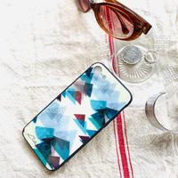 iPhone背面ガラスケース 【山】(レ・モンターニュ)【全5色】iPhone 12mini/SE2(第二世代)/11 Pro/XS/X/7/8