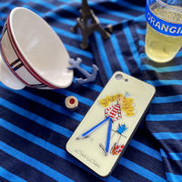 iPhone背面ガラスケース【パリジェンヌシリーズ】(全3柄)iPhone12mini/ SE2(第二世代)/ 11 Pro/iphone XS/X/7/8