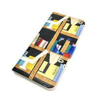 Android手帳型ケース/S,Mサイズ★10日でお届け【本】(リーブル)【全2色】