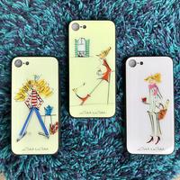 ✴︎新発売✴︎iphone11 Pro✴︎/iphone XS/X/7/8 背面ガラスケース【パリジェンヌシリーズ】(全3柄)