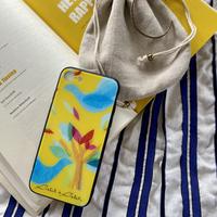 iPhone背面ガラスケース【鳥】(ロワゾ)【全4色】iPhone12/12Pro/11/XR/XSMax