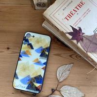iphone SE2(第二世代)/11 Pro/XS/X/7/8 背面ガラスケース 【山】(レ・モンターニュ)【全5色】