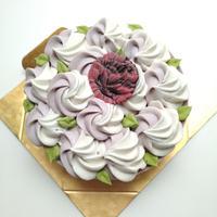 花畑ローケーキ(苺&チョコレート)