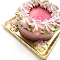 春のローケーキ(苺&チョコレート)