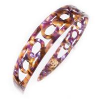 catherine bow hair band  purple