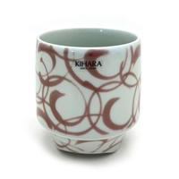 KIHARA(キハラ)L-117 香酒盃 Lサイズ 紅巻紋