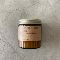 P.F.Candle Co.(ピーエフキャンドル)Soy Wax Candle/3.5oz/11.AMBER&MOSS