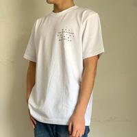 Loreak Mendian(ロリークメンディアン)53203104611 プリント半袖Tシャツ 90.WHT