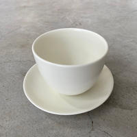 KINTO(キントー)17144 PEBBLE カップ&ソーサー 180ml ホワイト