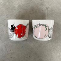 marimekko(マリメッコ)52219470772 Tarhuri コーヒーカップセット 10.WHT/RED/GRN