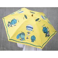 manipuri(マニプリ)0111672007 balloon 晴雨兼用折り畳み傘 80.yellow