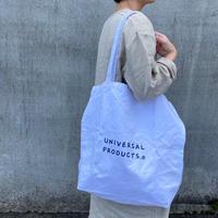 UNIVERSAL PRODUCTS(ユニバーサル プロダクツ)203-60910 UP+N Tote Bag WHT