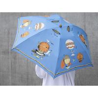 manipuri(マニプリ)0111672007 balloon 晴雨兼用折り畳み傘 45.blue