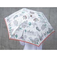 manipuri(マニプリ)0111672001 Paris 晴雨兼用折り畳み傘 15.off white